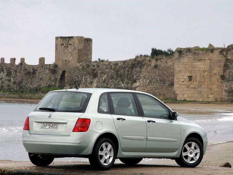 Fiat Stilo 1st generation hatchback 5 dv. 2.4 MT (2001–2010)