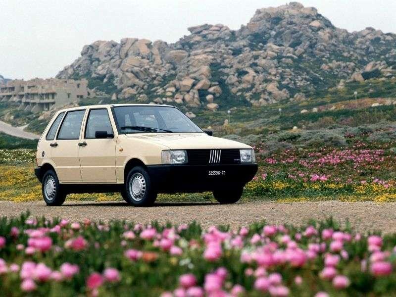 Fiat UNO 1st generation hatchback 5 dv. 1.7 D MT (1989–1993)