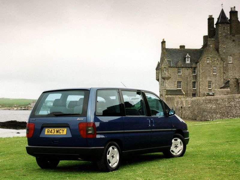 Fiat Ulysse 1st generation minivan 2.0 JTD MT (1999–2002)