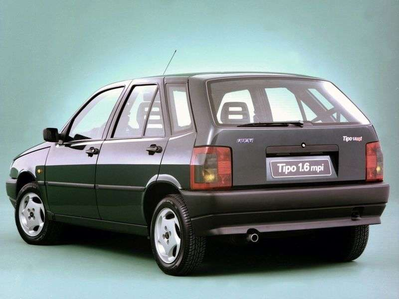 Fiat Tipo 1 generation hatchback 5 dv. 1.9 D MT (1988–1995)