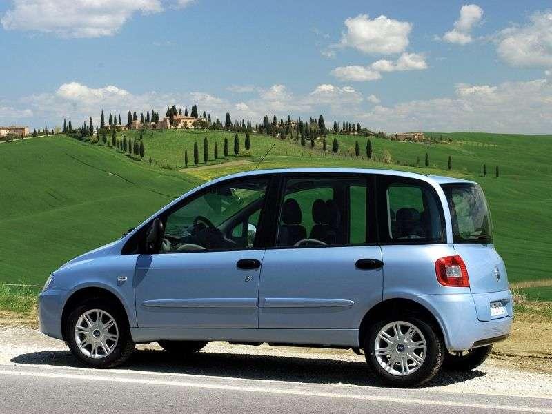 Fiat Multipla 2nd generation minivan 1.9 DPF T MT (2005 – n.)