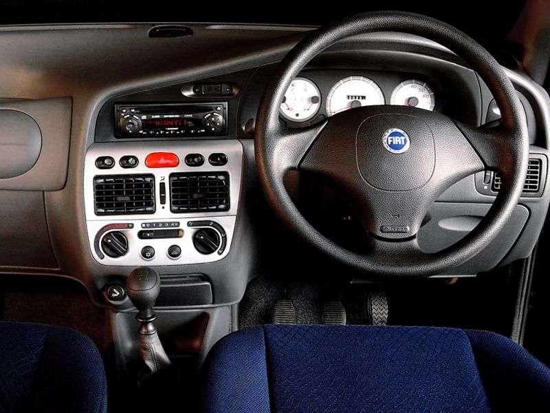 Fiat Siena 1st generation [restyled] 1.6 MT sedan (2001–2004)