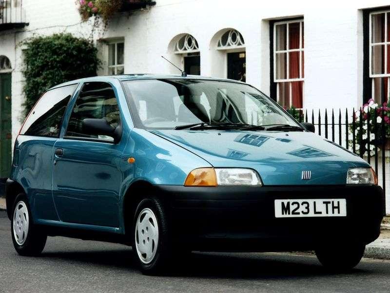 Fiat Punto 1st generation 1.6 MT hatchback (1993–1999)