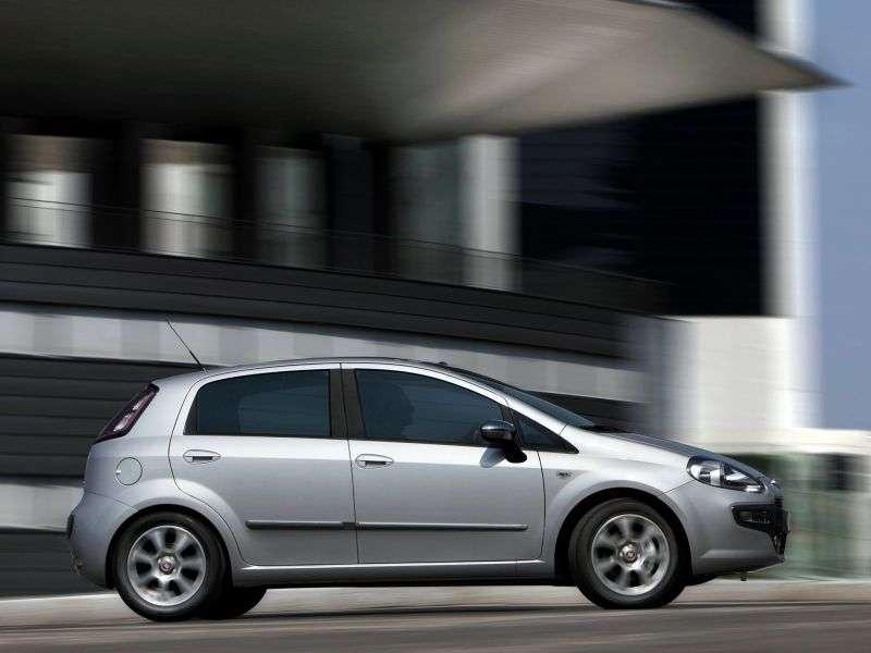 Fiat Punto 3rd generation Evo hatchback 5 bit. 1.4 MT Active (2009–2012)