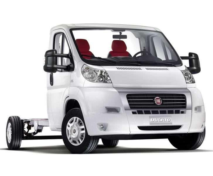 Fiat Ducato 3 generation Single Cab chassis 2 dv. 2.3 TD MT LWB H1 35 Basic (2012) (2012 – present)