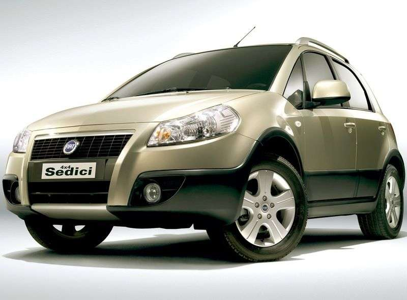 Fiat Sedici 1st generation [restyling] 2.0 MT 4x4 crossover (2010 – current century)