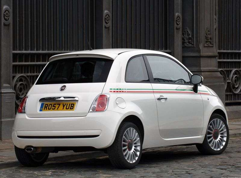 Fiat 500 2nd generation hatchback 1.2 MT POP (2008 – present)