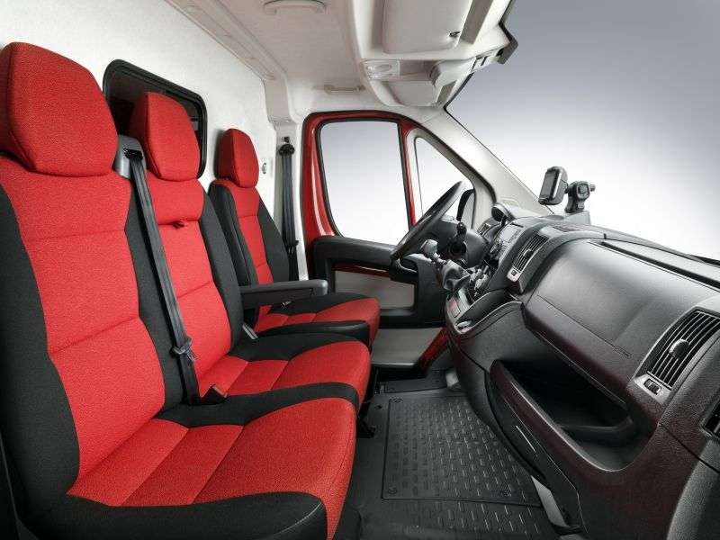 Fiat Ducato 3 generation Single Cab chassis 2 dv. 2.3 TD MT LWB H1 35 board Basic (2012) (2012 – present)