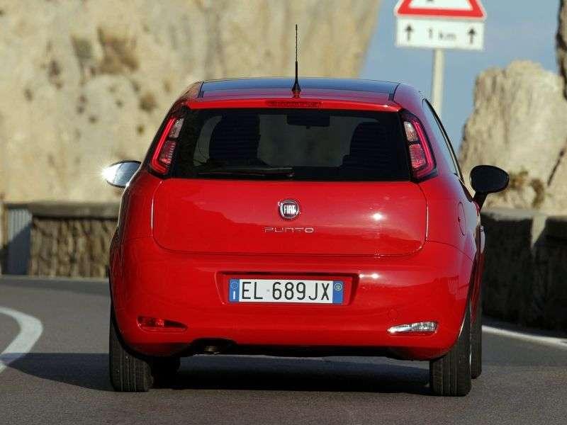 Fiat Punto 3rd generation [restyling] 3 bit hatchback 1.4 MT Mair Lounge (2012 – present)