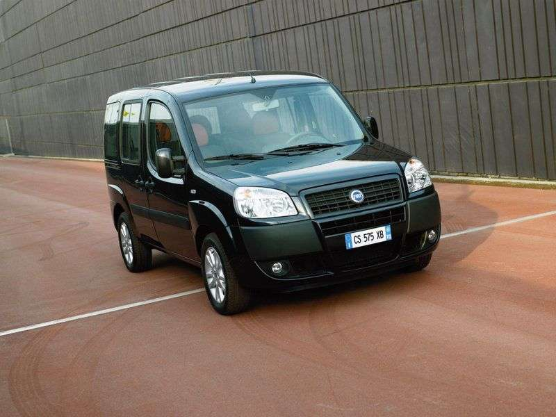 Fiat Doblo 1st generation [restyled] Panorama 1.4 MT Dynamic minivan (2013) (2005 – current century)