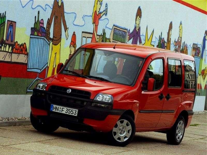 Fiat Doblo 1st generation minivan 1.9 D MT (2001–2005)