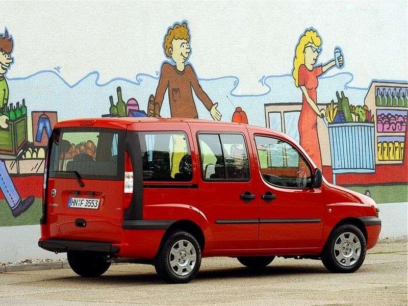 Fiat Doblo 1st generation minivan 1.8 MT (2001–2005)