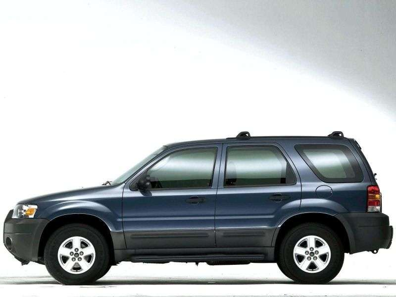 Ford Escape 1st generation [restyling] 5 bit crossover. 2.3 MT (2004–2007)