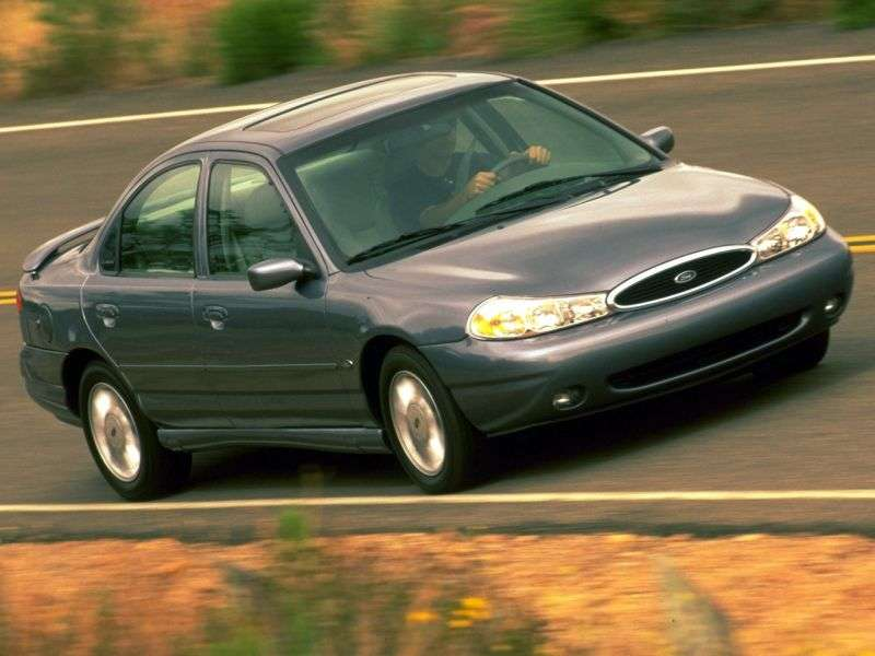 Ford Contour 2nd generation sedan 2.5i MT SVT (1999 2000)