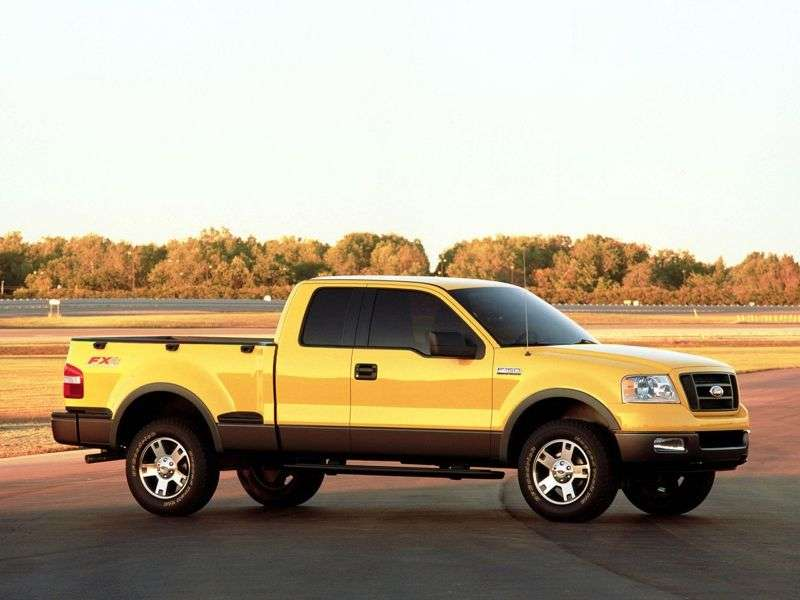 Ford F 150 9 generation Super Cab pickup 2 bit. 4.2 AT Small 4WD (2003–2008)