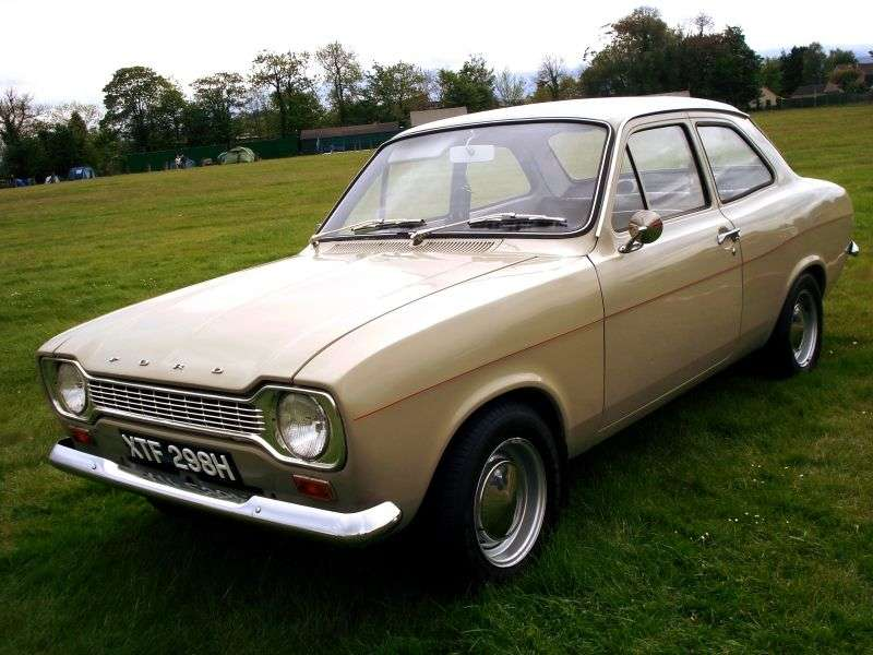 Ford Escort 1st generation coupe 1.3 GT MT (1968–1970)