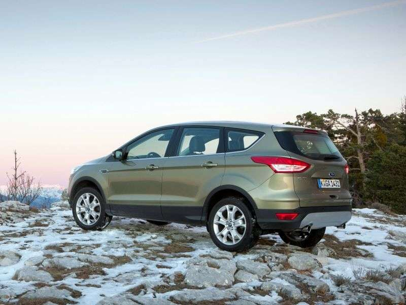 Ford Kuga 2nd generation crossover 1.6 EcoBoost AT AWD Titanium (2013 – v.)