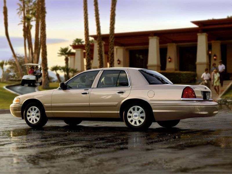 Ford Crown Victoria 2nd generation sedan 4.6i AT (2003–2007)