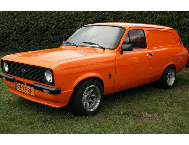 Ford Escort 2nd generation [restyling] 1.6 MT wagon (1978–1980)