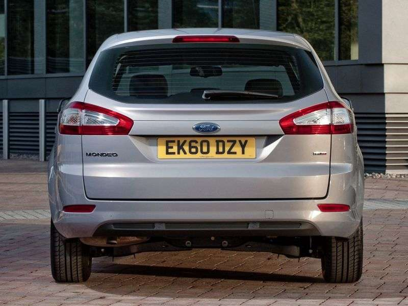 Ford Mondeo 4th generation [restyling] station wagon 2.0 TDCi AT Titanium (2012) (2010 – n.)