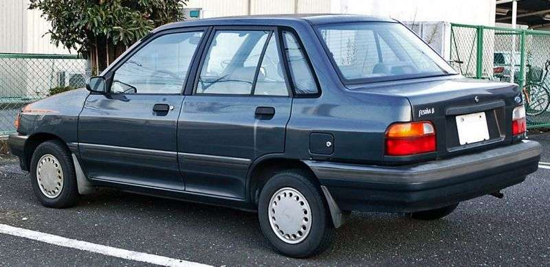 Ford Festiva 1st generation hatchback 5 dv. 1.3 MT (1986–1993)