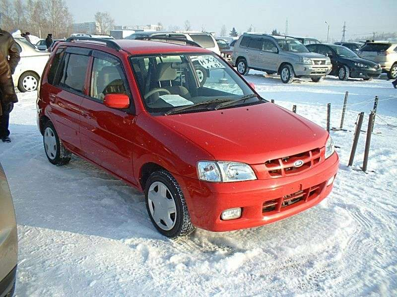 Ford Festiva Mini Wagon Minivan 1.3 MT (1996–2002)