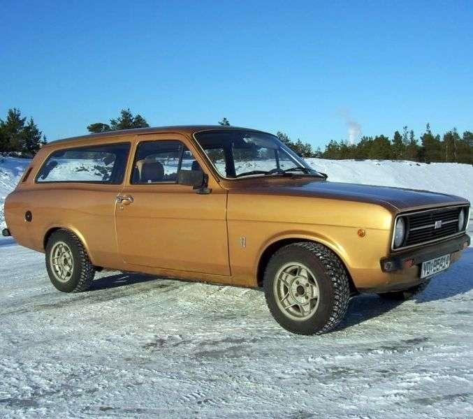 Ford Escort drugiej generacji kombi 1.3 MT (1974 1978)