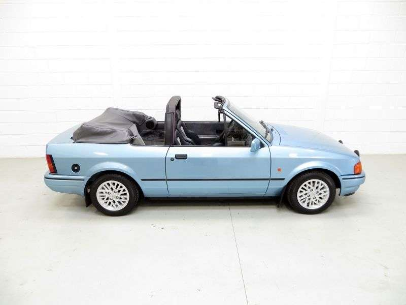 Ford Escort 4 generation convertible 1.4 MT (1989–1990)