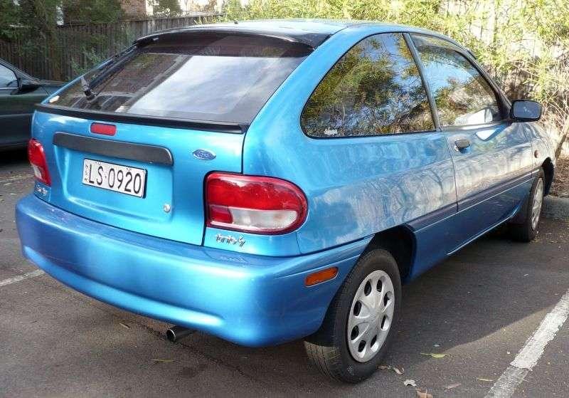 Ford Festiva 2nd generation [restyled] hatchback 1.3 AT (1997–2000)