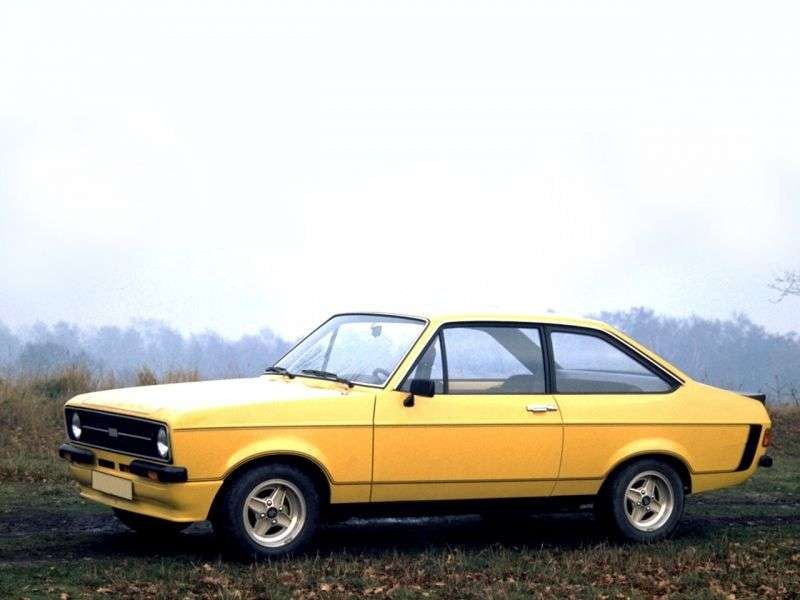 Ford Escort 2 drzwiowy RS coupe 2.generacji 1.6 RS Meksyk MT (1974 1978)
