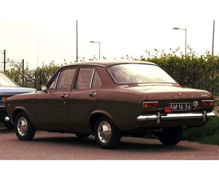 Ford Escort 1st generation 1.1 MT sedan (1968–1970)