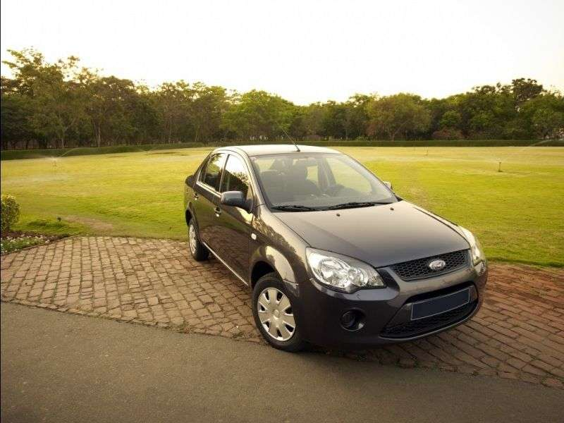 Ford Fiesta 5th generation [2nd restyling] Classic Sedan 1.4 TDCi MT (2011 – n.)