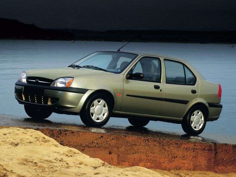 Ford Fiesta 4th generation [restyling] Ikon 1.6 MT sedan (2000–2002)