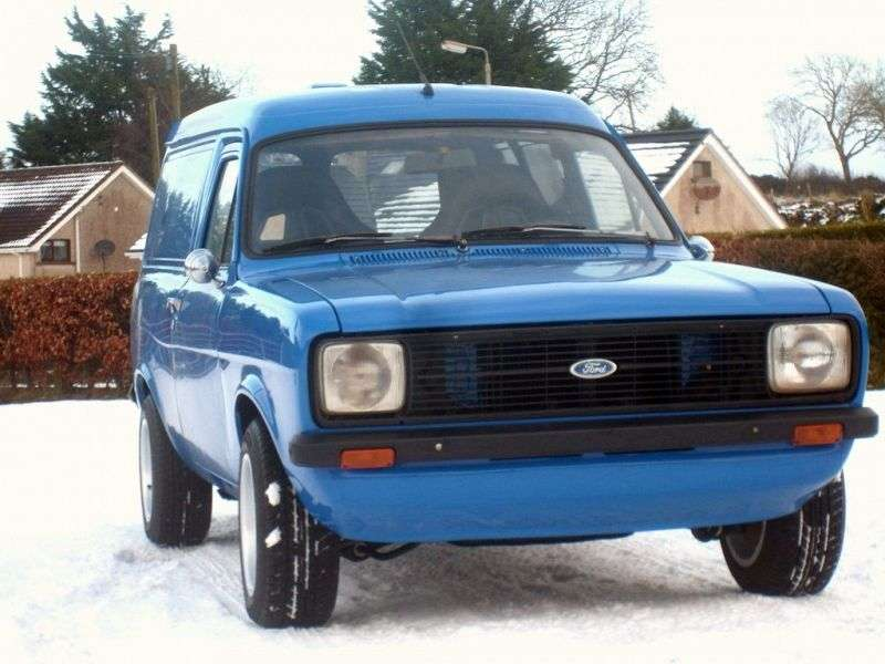 Ford Escort 2nd generation [restyled] van 1.6 AT (1978–1980)