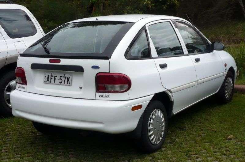 5 drzwiowy 5 drzwiowy Ford Festiva [zmiana stylizacji] hatchback. 1,5 AT (1997 2000)