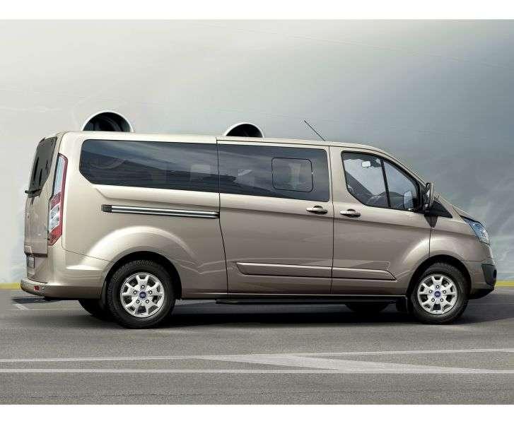 Ford Tourneo Custom 1st generation Minivan 2.2 Duratorq TDCi MT FWD 300 LWB Limited (2012 – n.)