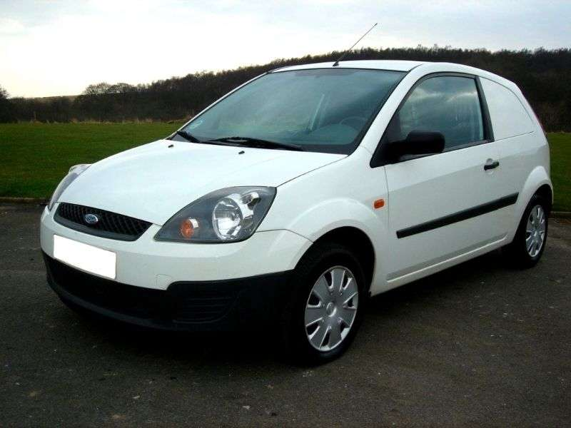 Ford Fiesta 5th generation [restyling] VAN van 1.4 TDCi MT (2005–2008)