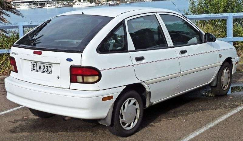 Ford Festiva 2nd generation hatchback 5 dv. 1.3 MT (1993–1997)