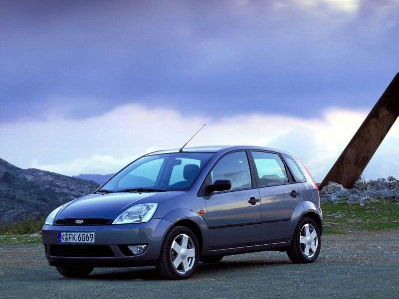 Ford Fiesta 5th generation hatchback 5 dv. 1.25 MT (2002–2005)