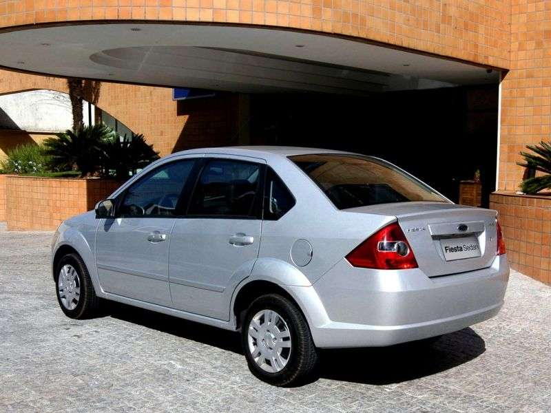 Ford Fiesta 5th generation [restyling] BR sedan 1.6 Max MT (2007–2010)