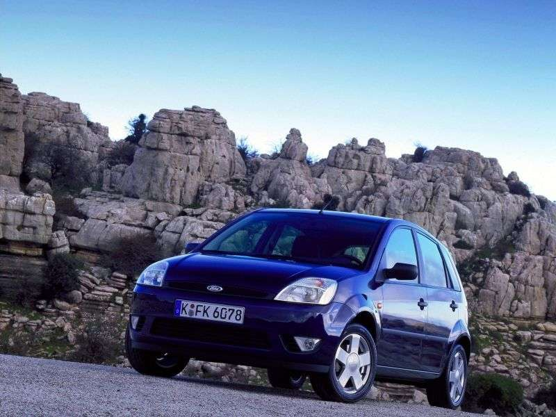 Ford Fiesta 5th generation hatchback 5 dv. 1.0 ST Supercharged MT (2005–2007)