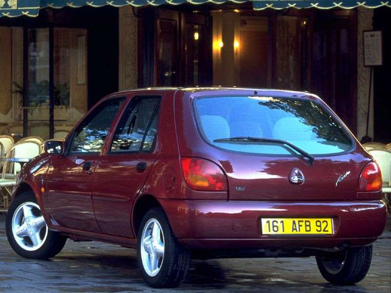 Ford Fiesta 4th generation hatchback 5 dv. 1.3 MT (1996–1999)