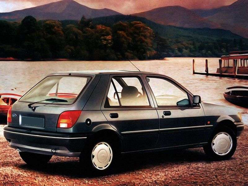 Ford Fiesta 3 generation hatchback 5 dv. 1.4i S MT (1994–1996)