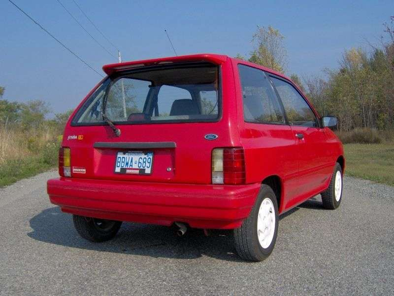 Ford Festiva 1st generation 1.1 MT hatchback (1986–1993)