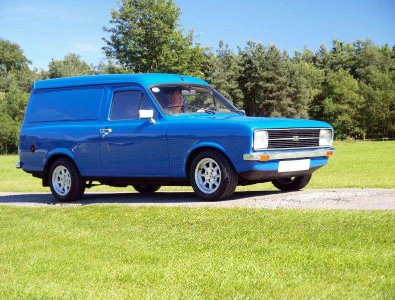 Ford Escort 2nd generation van 1.3 MT 45Van (1974–1978)