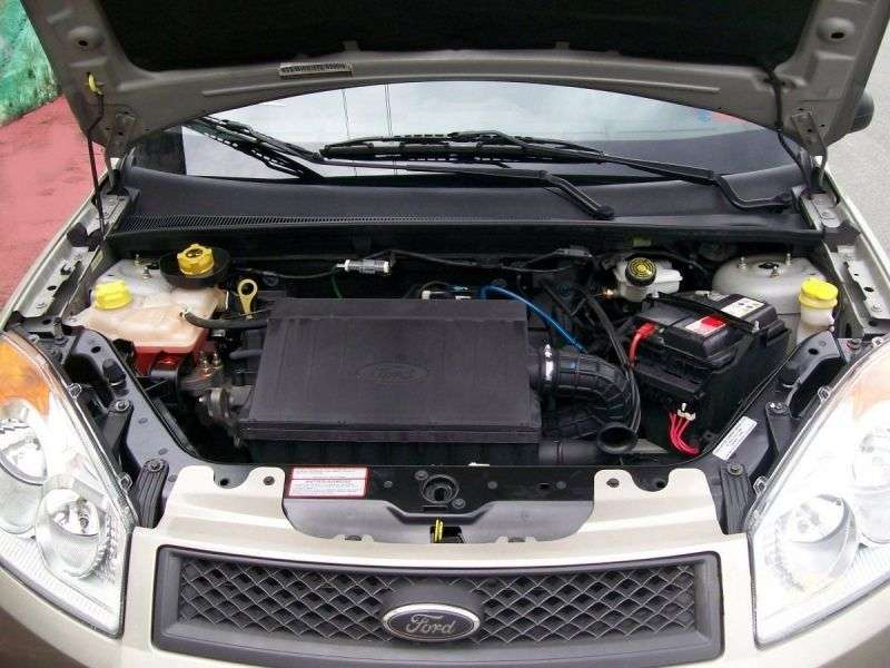 Ford Fiesta 5th generation [restyling] BR 5 dv hatchback 1.0 Flex MT (2007–2010)