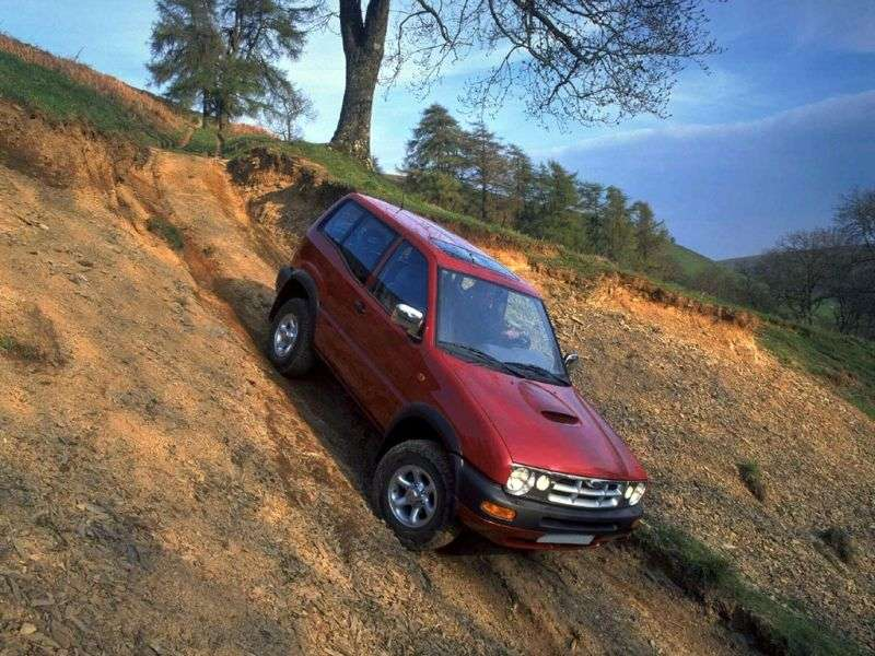 Ford Maverick 1st generation [restyled] SUV 3 dv. 2.4 MT 4x4 (1996–1998)