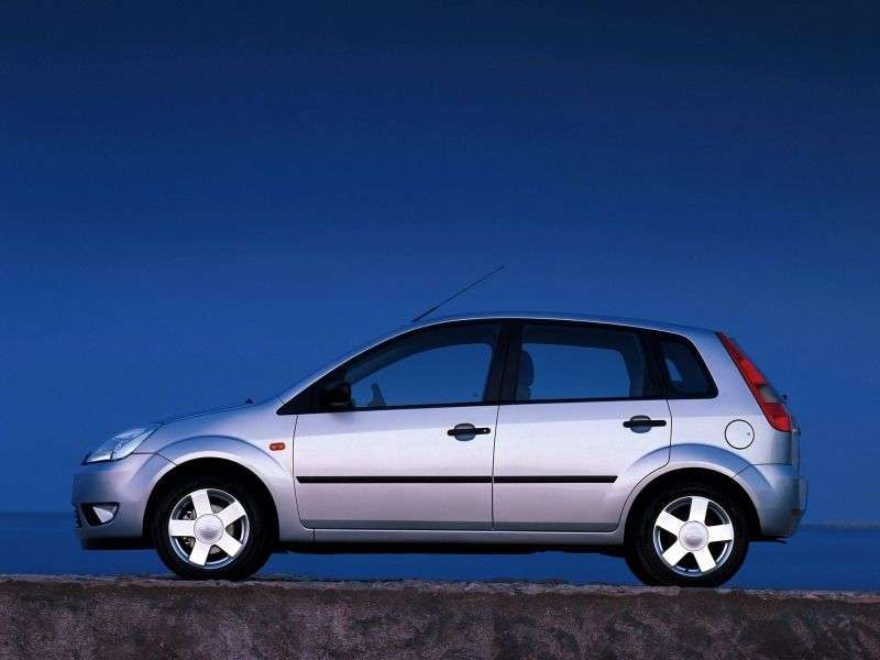 Ford Fiesta 5th generation hatchback 5 dv. 1.3 MT (2002–2005)