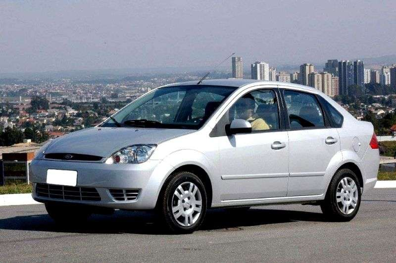 Ford Fiesta 5th generation sedan 1.4 TDCi Max MT (2004–2007)