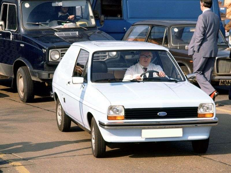 Ford Fiesta 1st generation VAN van 1.0 MT (1976–1983)